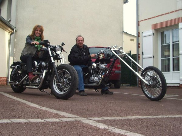 LA DIDINE ET FRED CHOPPER.