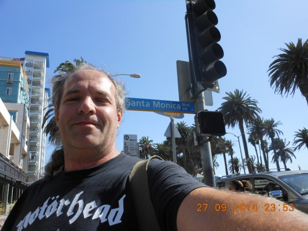 USA : L A / SANTA MONICA / VENICE BEACH.
