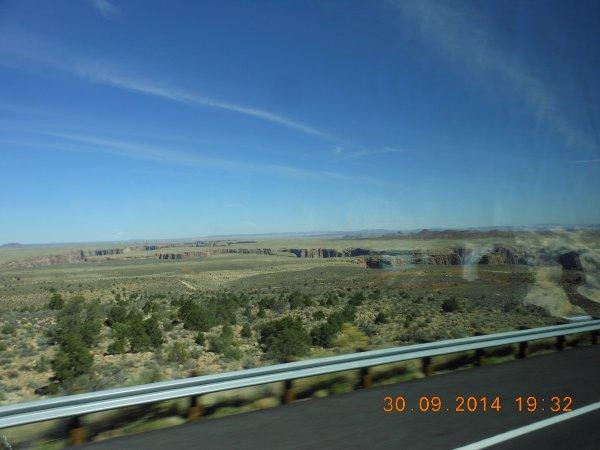 USA : GRAND CANYON (LENDEMAIN MATIN).