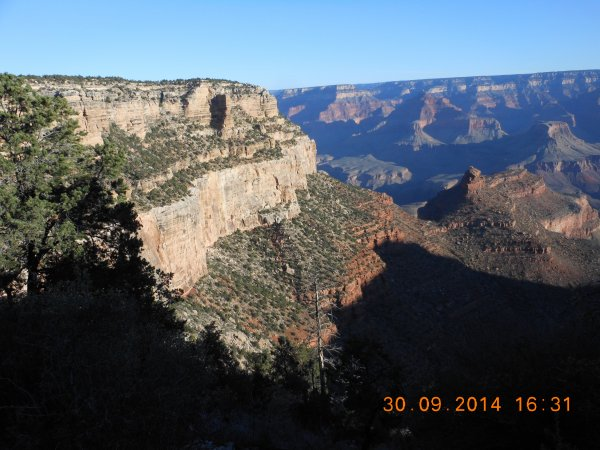 USA : GRAND CANYON (LENDEMAIN MATIN).
