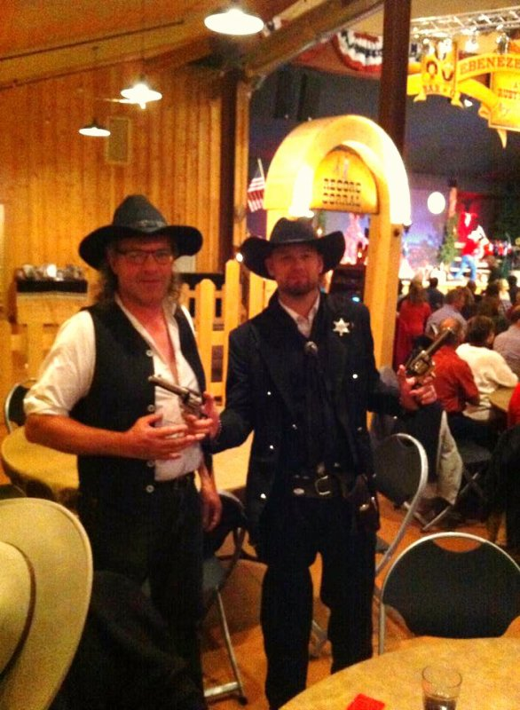 USA : AVEC SHERIFF SHAWN.