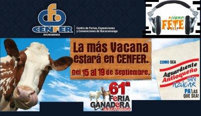 Feria Ganadera de Bucaramanga - 15 al 19 de septiembre en cenfer ---> 61ª ferias de bucaramanga (internacional) 2010