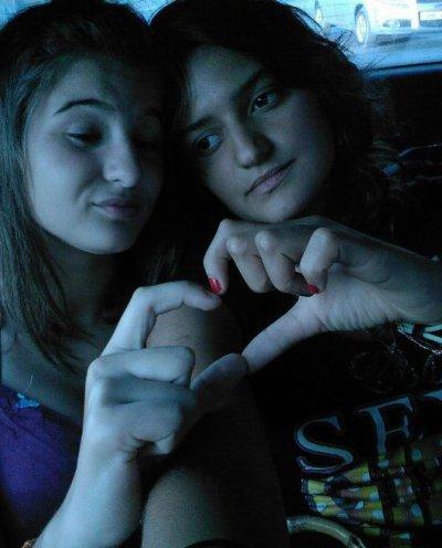 ** moi et mon amie **