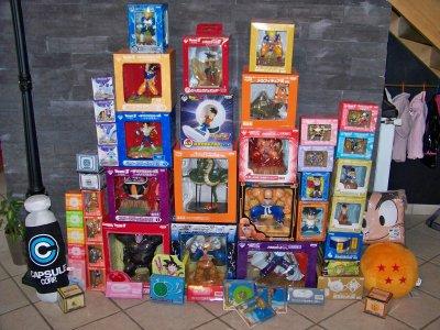 Figurines de loteries en boites!!!!!!!!!!!!!!!!!