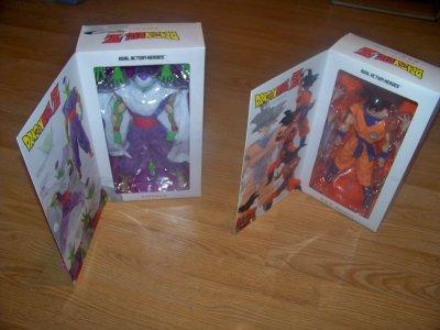 Medicom Goku & Piccolo