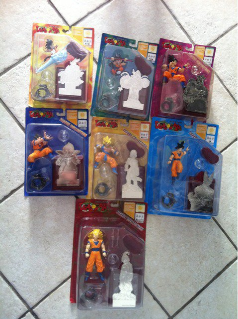 dragon ball figure collection shuiesha