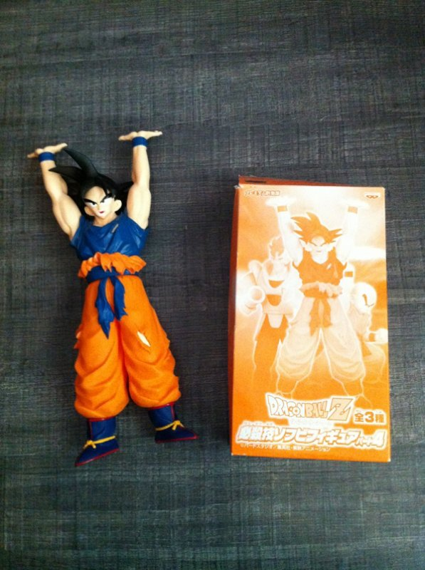Dragon ball banpresto goku vinyl 1/3