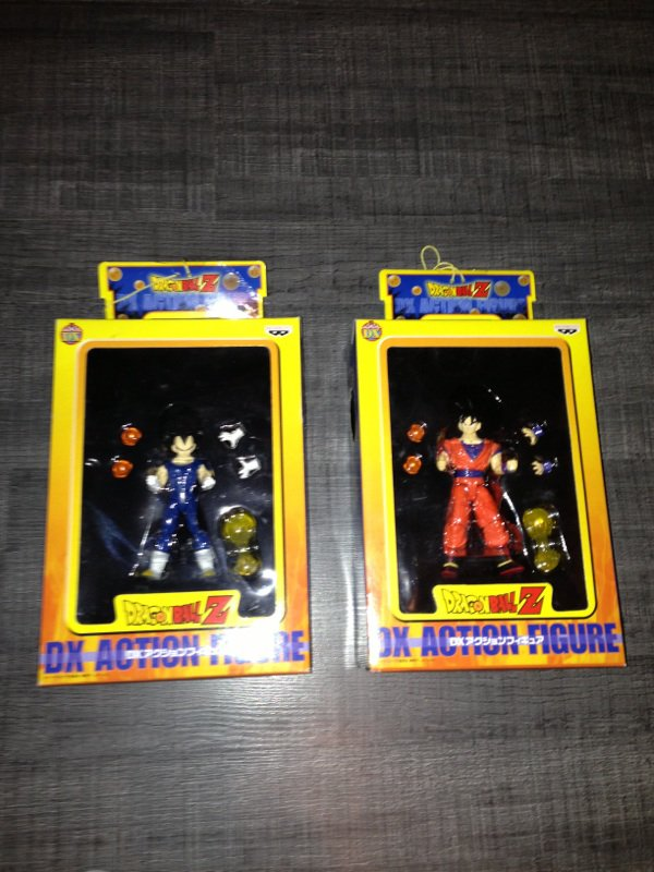 Dx action part 1 vegeta & goku banpresto 2003