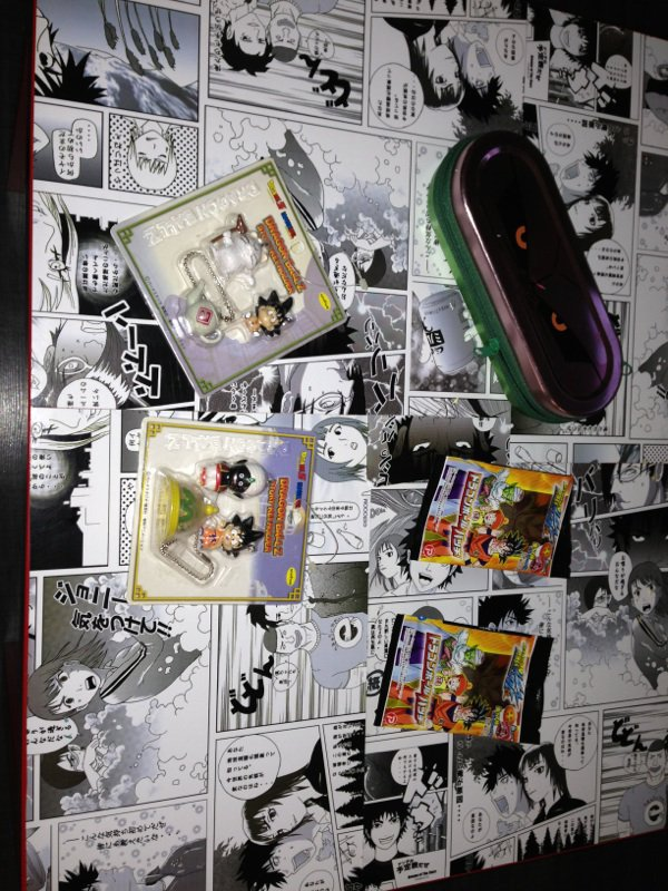 Lot divers goodies dbz