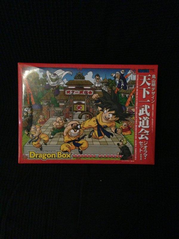 Santa doll goku & tenkaichi dvd box