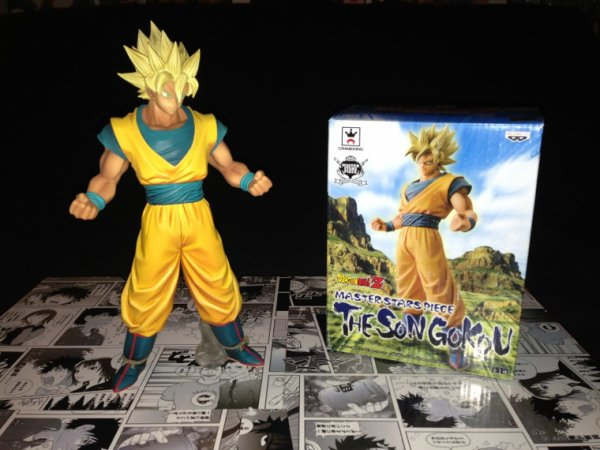 Dragon ball Goku master piece banpresto