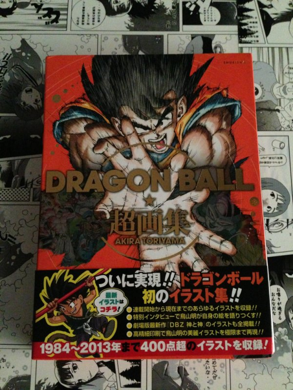 Dbz artbook cho gashu art book