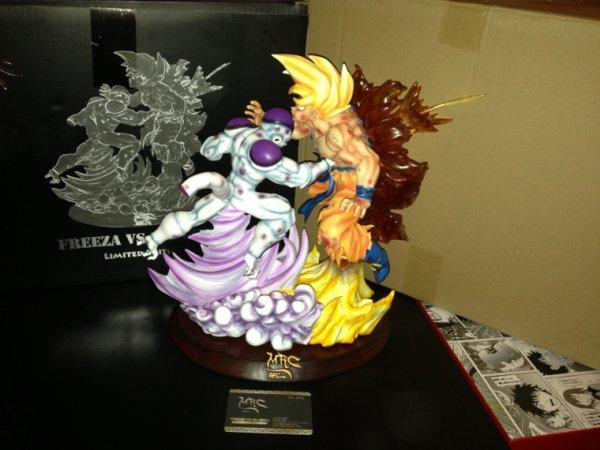Dragon ball Freeza VS Goku