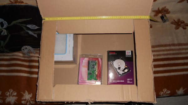 Emballage MERDIQUE de materiel.net