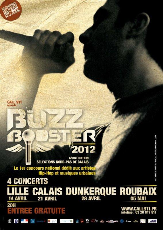Buzz Booster 2012 4 CONCERTS GRATUITS Venez SOutenir le Nerval Muzik
