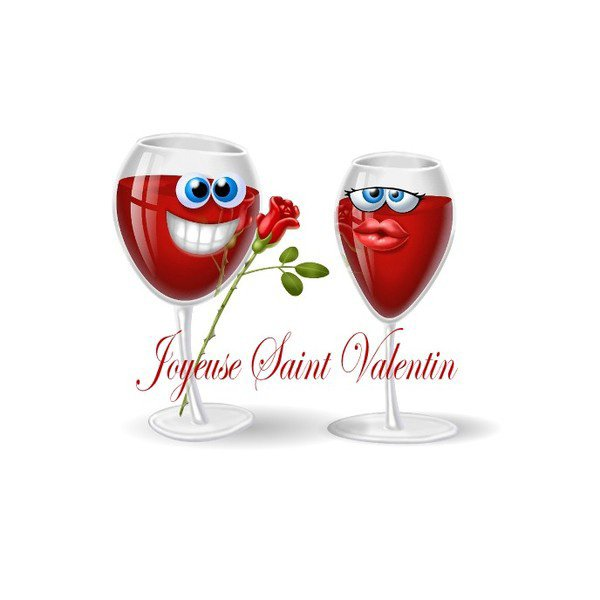joyeuse saint valentin a tous gros bisous