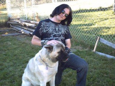 moi et mon chien suko ( old time )