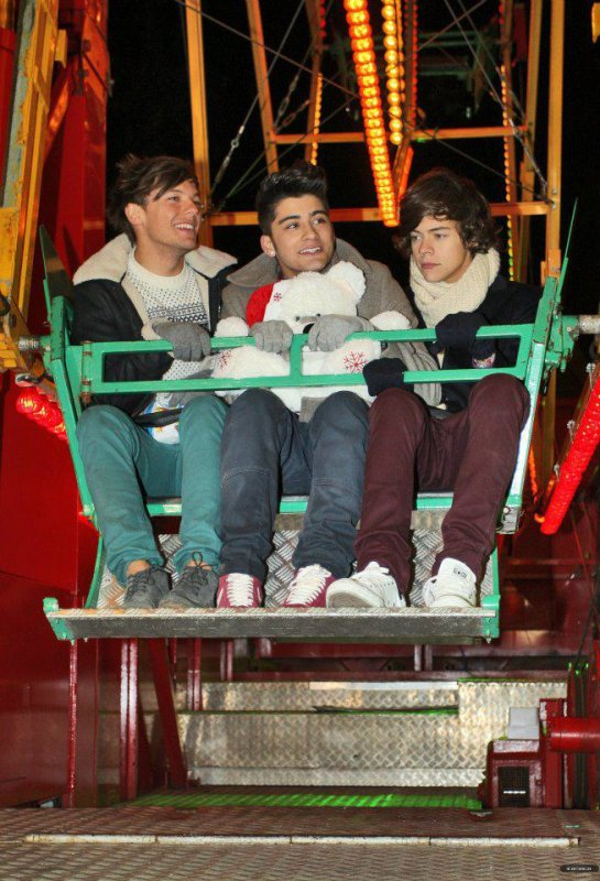 1D au parc d'attraction