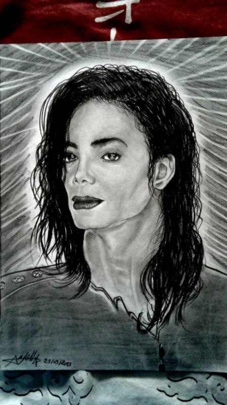 Dessin Micheal Jackson ;)