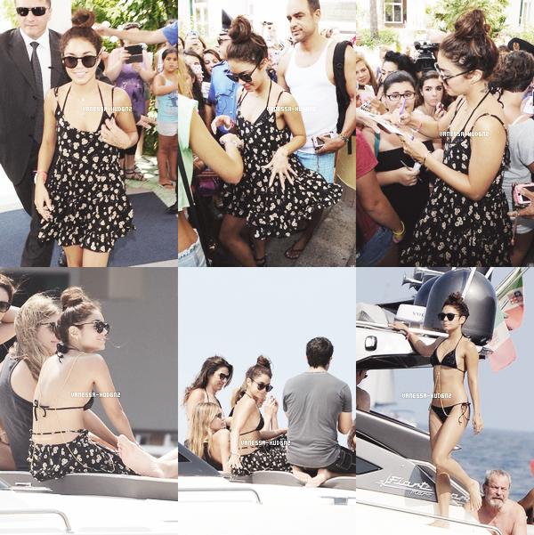 OUT & ABOUT / Le 17 juillet 2013, Vanessa s'est accordé une petite pause shopping à Londres. Elle portait une robe LOVERS + FRIENDS et des chaussures Joe's Jean que vous pouvez acheter ici et ici. Que penses-tu de sa tenue ?