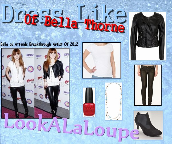 Dress Like of Bella Thorne