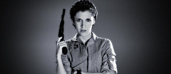 hommage a carrie fisher