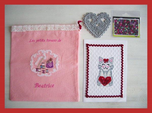 échange carte St Valentin