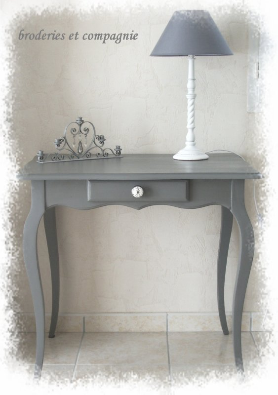 table console relookée