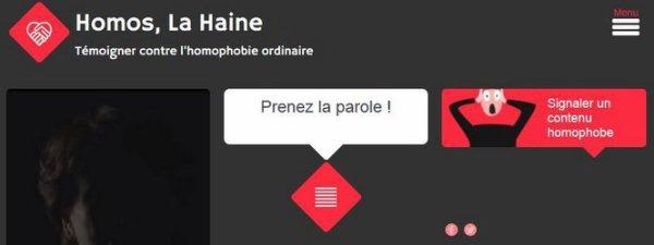 «Homos, la haine », un outil de service public contre l'homophobie ordinaire Publié par Maëlle Le Corre Pour accompagner un documentaire sur l'homophobie, France Télévisions vient de lancer une plateforme de témoignages pour recueillir la parole des victimes.