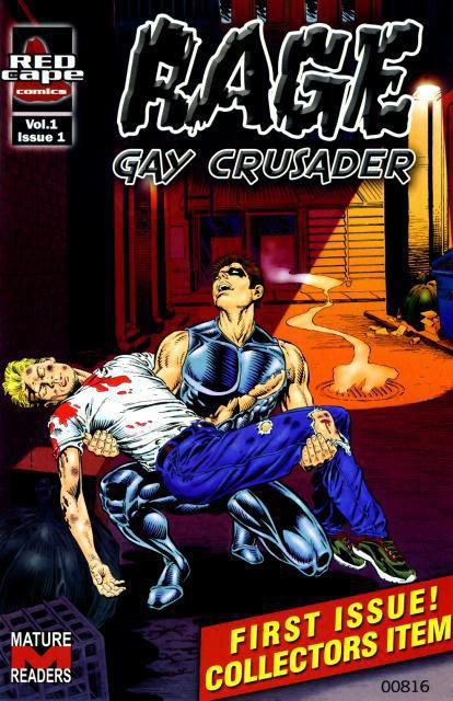 Rage : un super héros gay et un comics qui n'existe que dans la série Queer as folk(US)