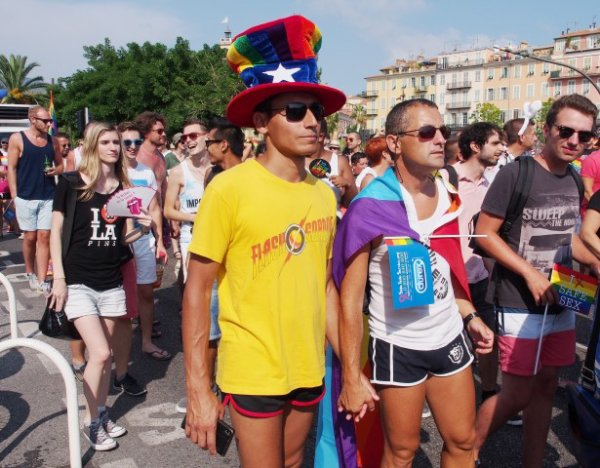 PHOTOS et VIDEO. Pink Parade: Nice, fière de sa diversité