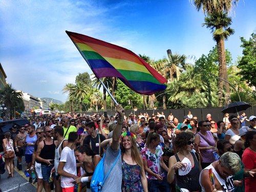 PHOTOS et VIDEO. Pink Parade: Nice, fière de sa diversité