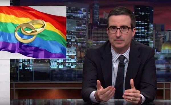 Droits LGBT vs. liberté religieuse: John Oliver s'invite dans le débat