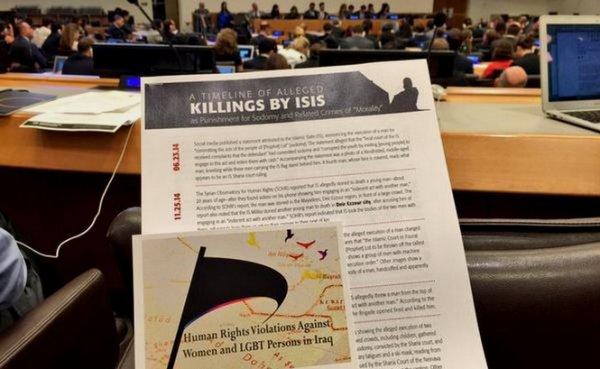 Des gays persécutés par Daesh témoignent à l'ONU