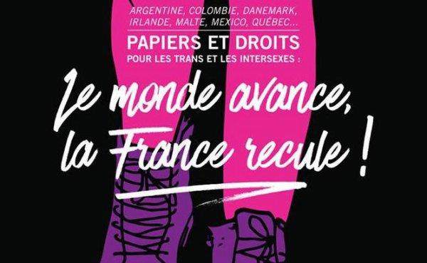 L'image du jour: «Le monde avance, la France recule!», le mot d'ordre de l'Existrans 2015