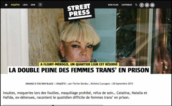 La double peine des femmes trans' en prison