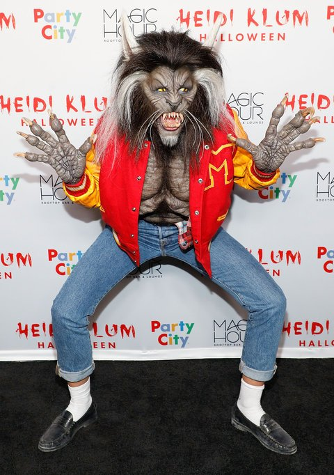 Halloween : Heidi Klum