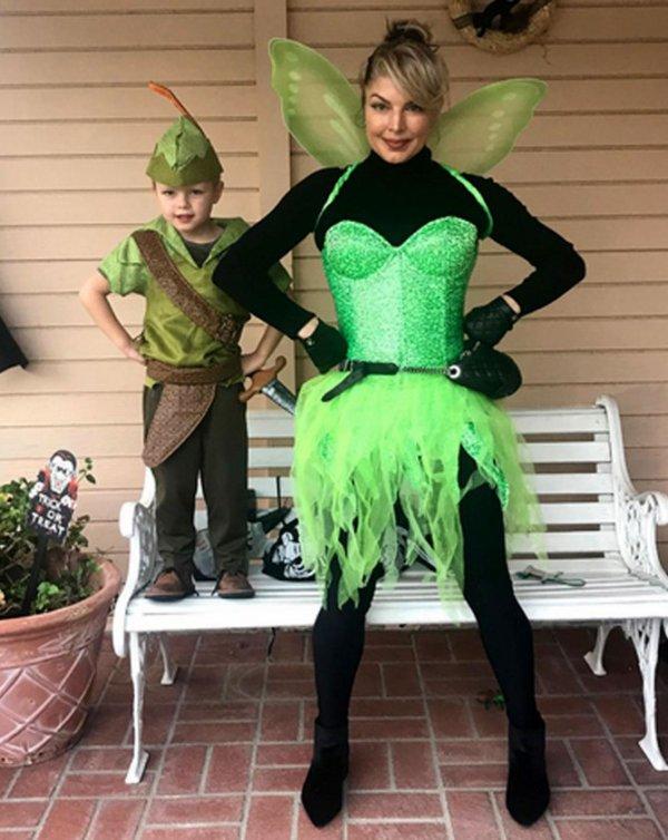 Halloween : FERGIE & son fils