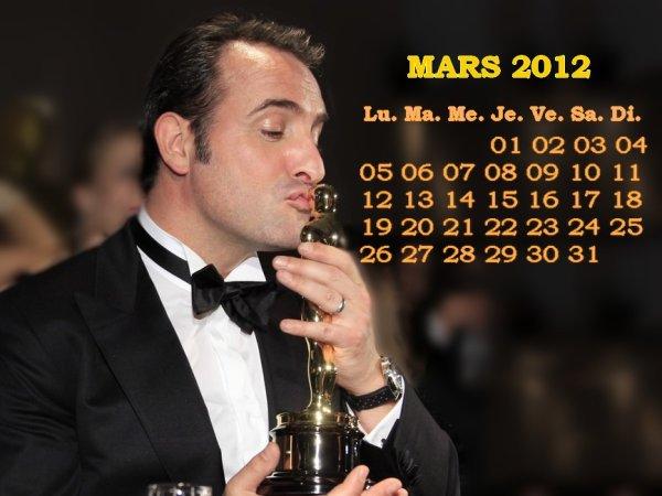 Calendrier MARS 2012