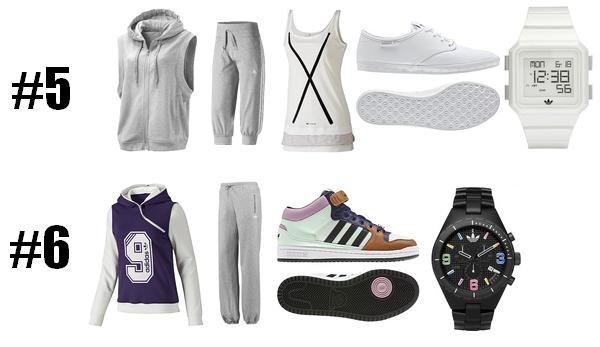 Tenues Adidas