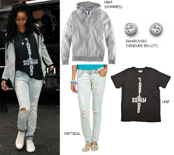 Dress Like : Rihanna