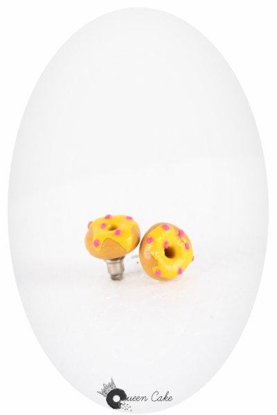 les minis donuts citron et paillettes de fraise