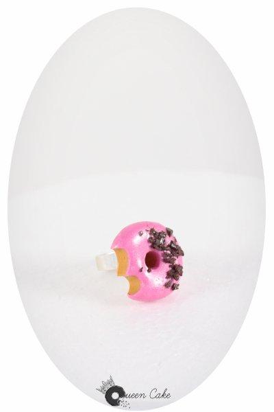 Le donuts croqué fraise chocolat