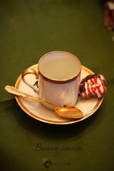 Bonne année 2012 à tous les gourmands!!