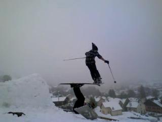 ski avec corado