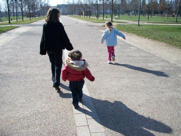 Aujourd'hui au parc avec les cousines :D