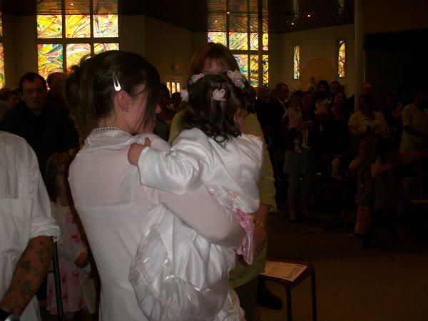Comme promis des photos en méli mélo du baptême !
