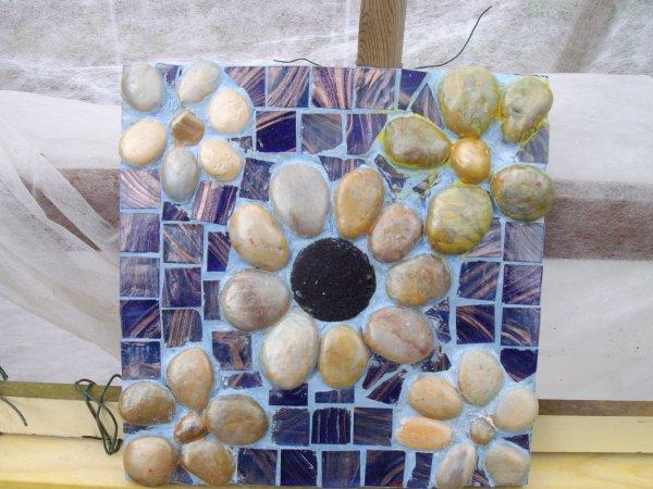 mes tableaux en mosaïques