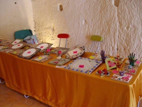 Le dimanche 16 Juin  2013 de 10h a 18h a Villaines Les Rocher dans un très beau troglodyte j'exposer mes créations en compagnie d'autres artistes
