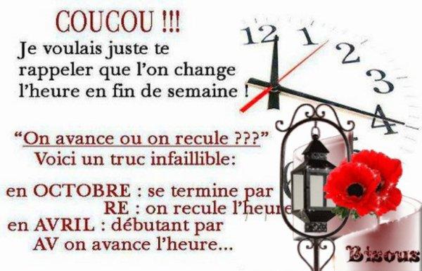 Changer d'heure